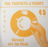 ORIGINAL PRESS: The Prophets & Trinity - Blessed Are The Meek / Tommy McCook - Stepping High (Grove Music) 12""